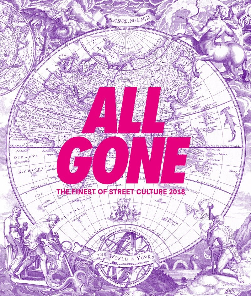 """Image of ALL GONE 2018 """"The World is Yours"""" Pink Matter"""