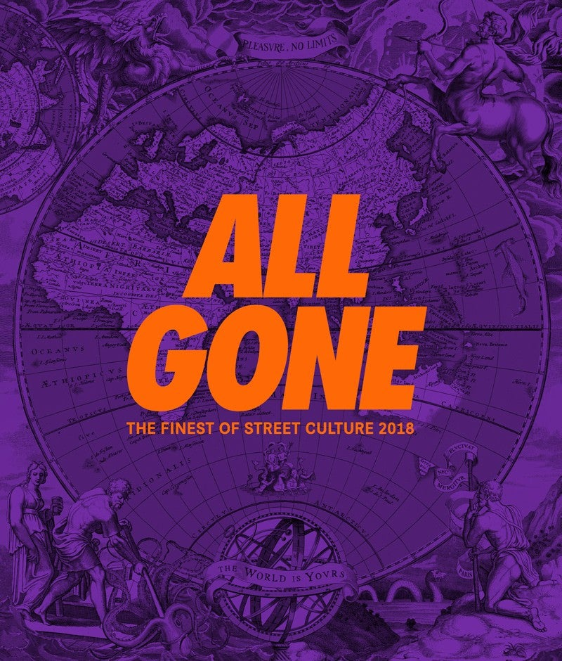 """Image of ALL GONE 2018 """"The World is Yours"""" Purple Reign"""