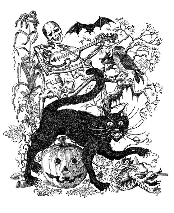 Image of A Night on halloween (artist copies)
