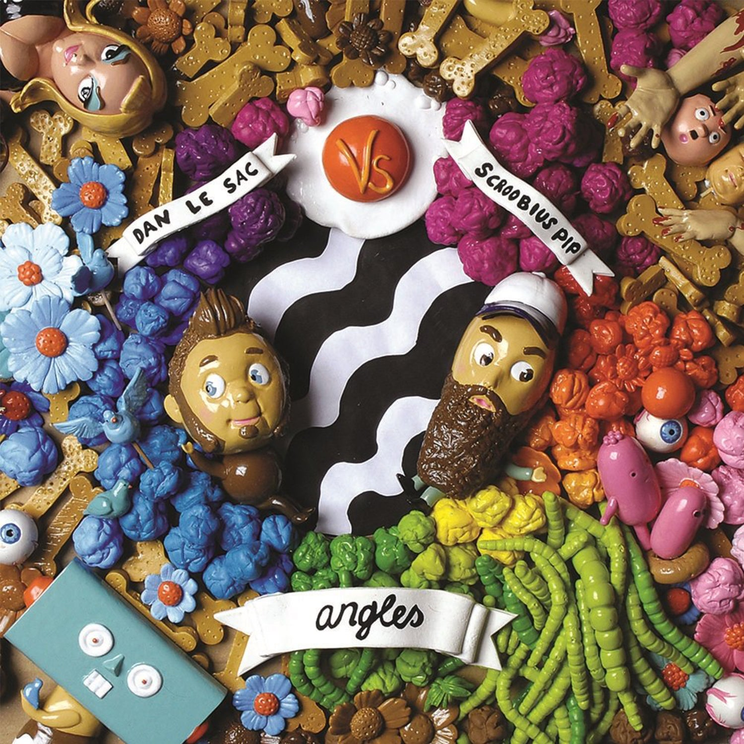 Image of Dan Le Sac Vs Scroobius Pip - Angles