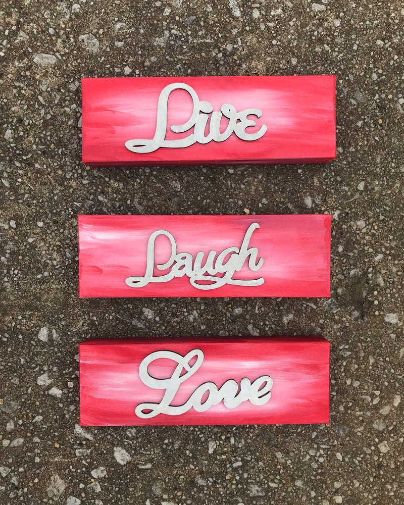 Image of Live, Laugh, Love
