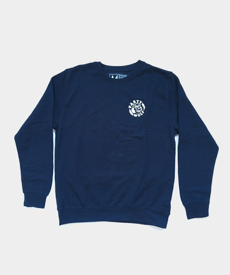Image of Limited Party Wolf sweatshirt (Navy)
