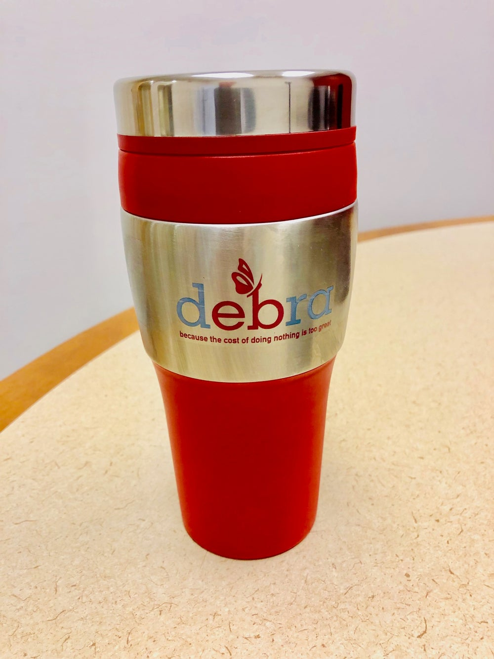 Image of debra thermal mug