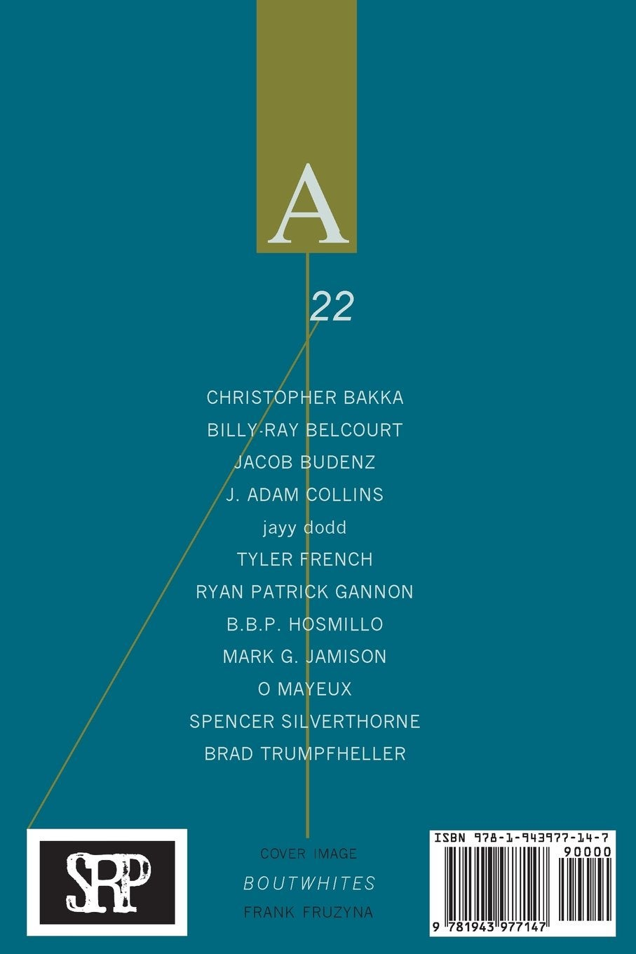 Image of Assaracus Issue 22: A Journal of Gay Poetry (Belcourt, dodd, Hosmillo)