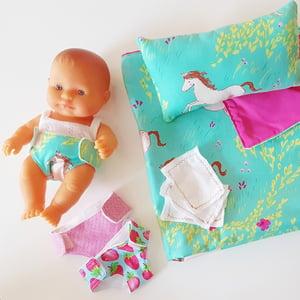 Image of Doll blanket set