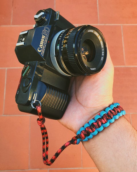 Image of 2 color single camera straps