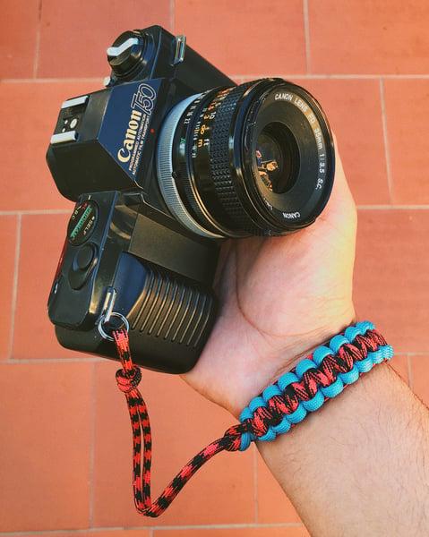 Image of 2 color single camera straps