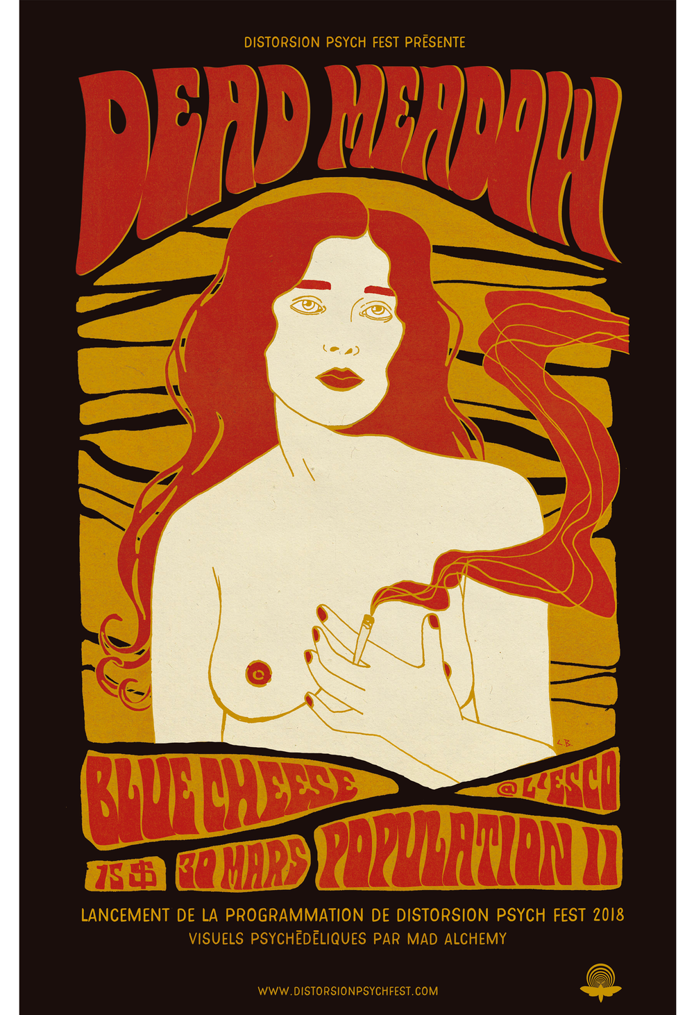 Image of Dead Meadow Gig Poster
