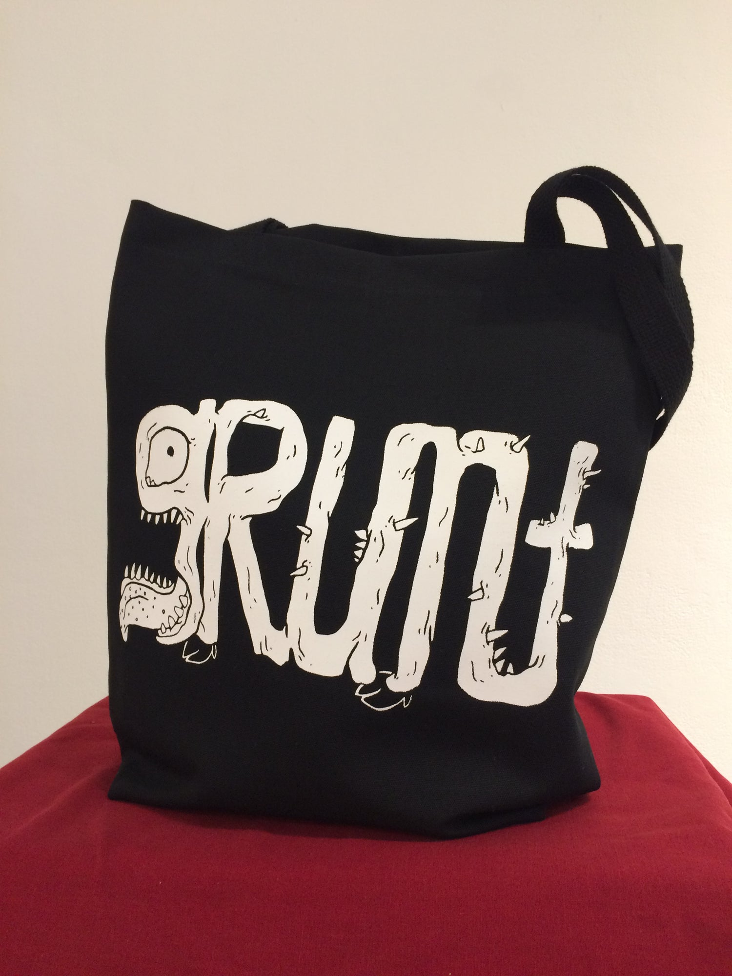 Image of grunt tote bag