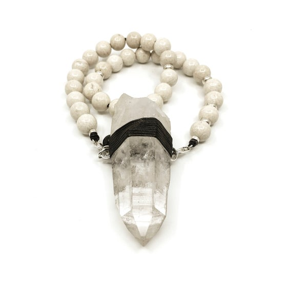 Image of Riverstone Choker 33 with Lemurian