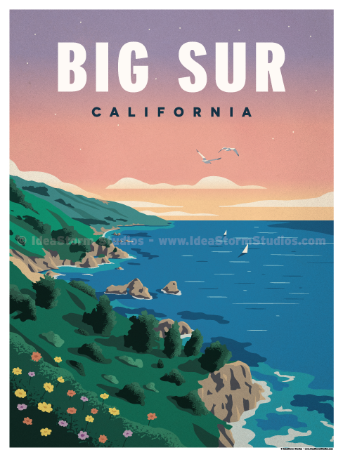 Image of Big Sur Poster