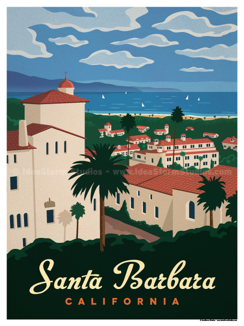 Image of Santa Barbara Poster