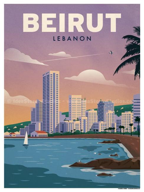Ideastorm Studio Store Beirut Poster