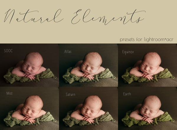 Image of Natural Elements Preset Collection
