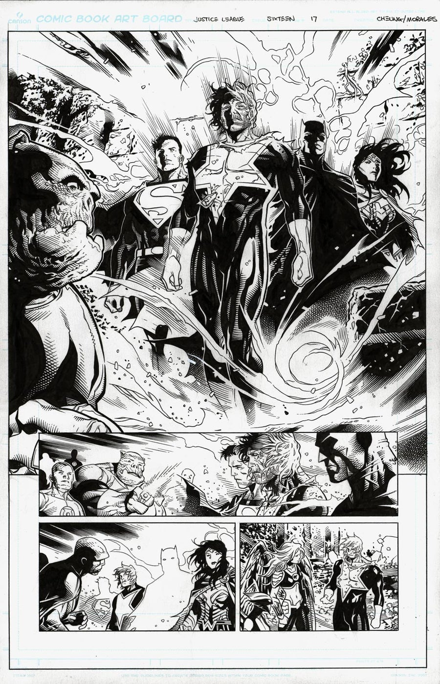 Image of JUSTICE LEAGUE #16_17