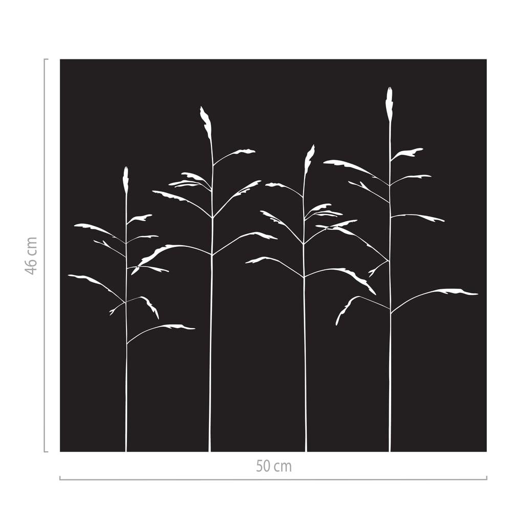 Image of Sichtschutz Folie mit Motiv, Milchglasfolie dekorativ Gräser