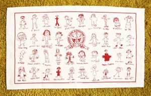 Image of Freak Scene Tea Towel