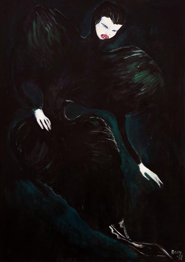 Image of Alexander McQueen A4/A3 print