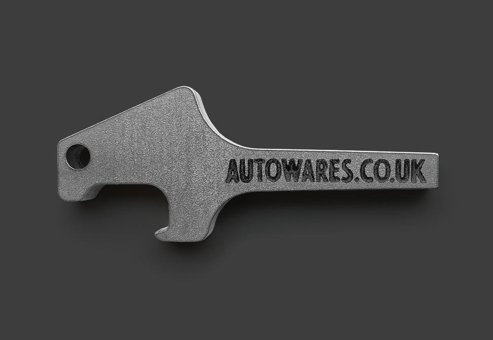 Image of Church Key Bottle Opener Keyring