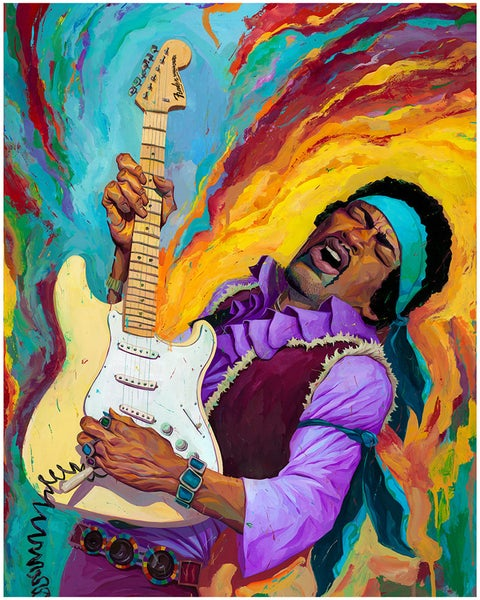 Image of Hendrix Print
