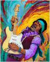 Hendrix Print