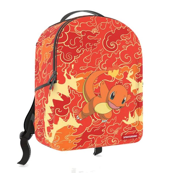 Image of Sprayground Pokémon Charmander Unisex Synthetic Fabric Orange Backpack