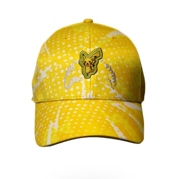 Image of SPRAYGROUND Pokemon Pikachu Graphic Baseball Cap Hat