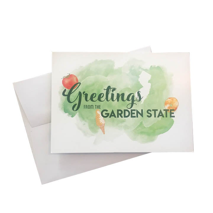 Image of Greetings from the Garden State Card
