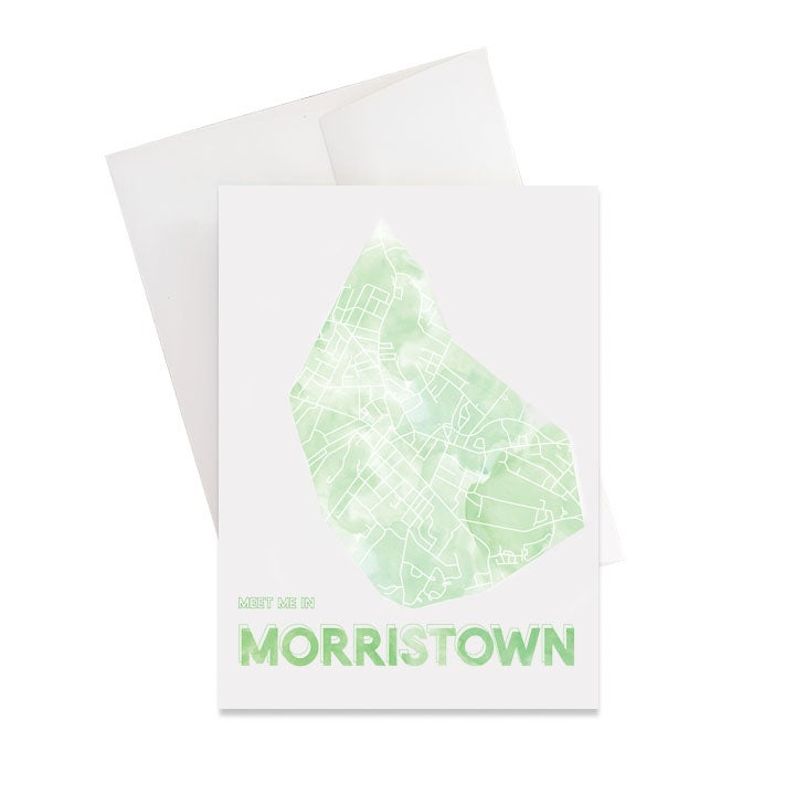 Image of Morristown NJ Card