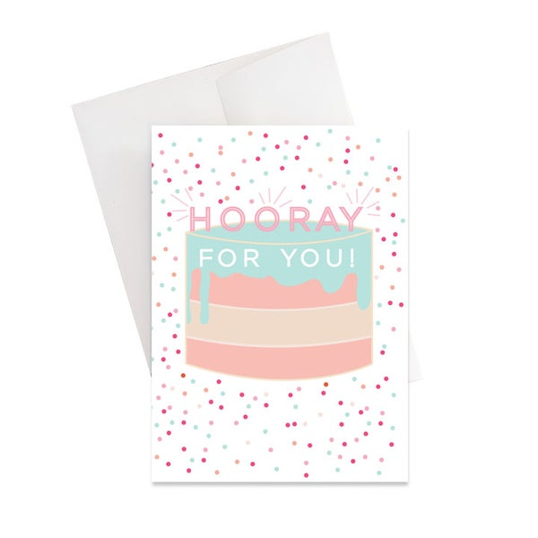 Image of Hooray for You Birthday Card