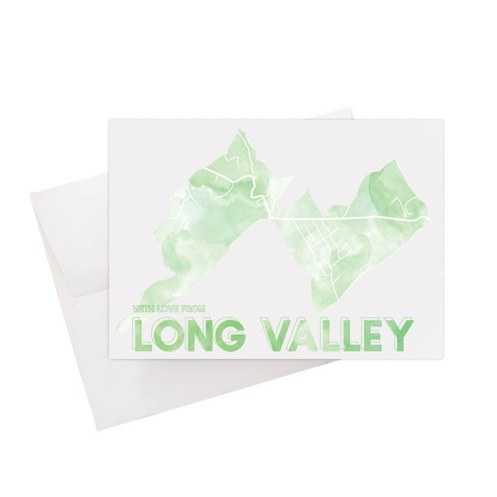 Image of Long Valley NJ Card