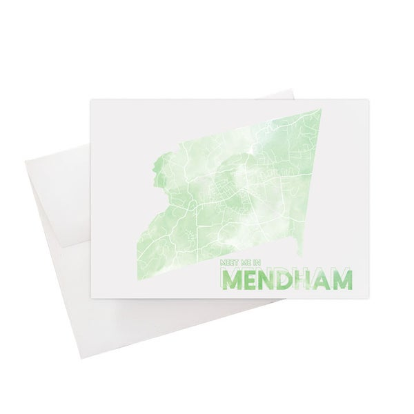 Image of Mendham NJ Card