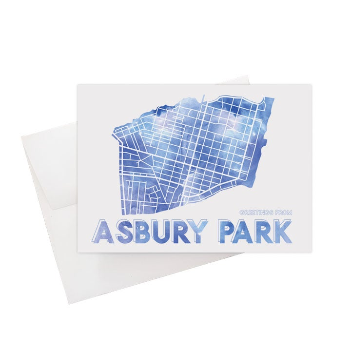 Image of Asbury Park NJ Card