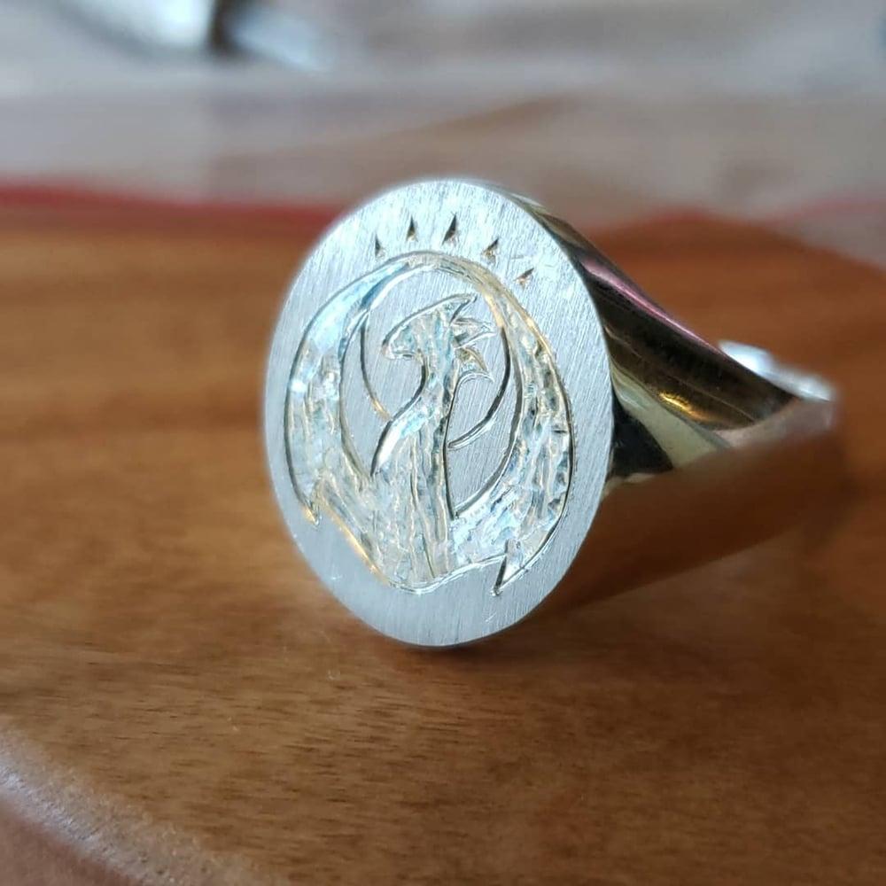 Image of Allegiance Rings - 17mm signet