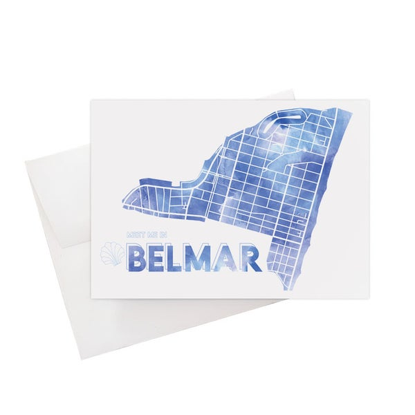 Image of Belmar NJ Card