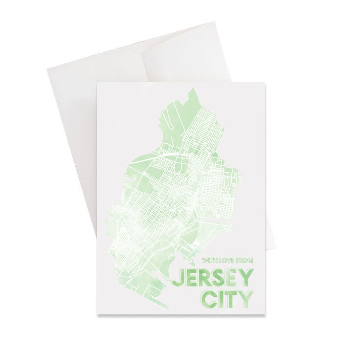 Image of Jersey City NJ Card