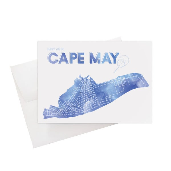 Image of Cape May NJ Card