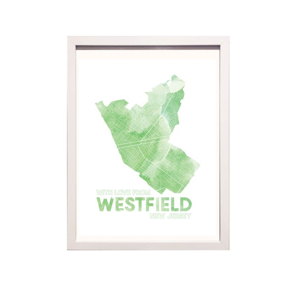 Image of Westfield NJ Art Print