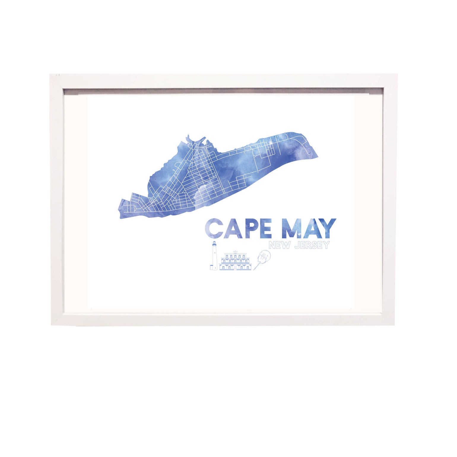 Image of Cape May NJ Art Print