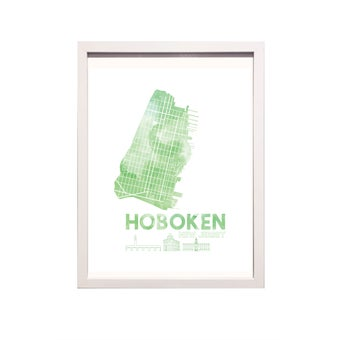 Image of Hoboken NJ Art Print