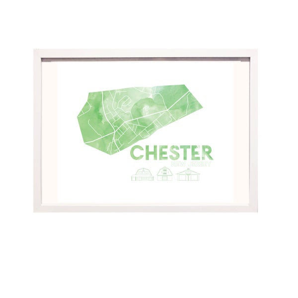 Image of Chester NJ Art Print