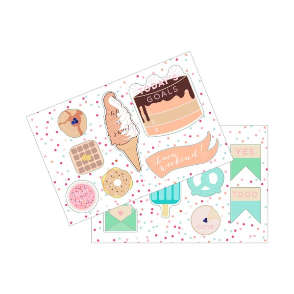 Image of Sticker Sheet Set