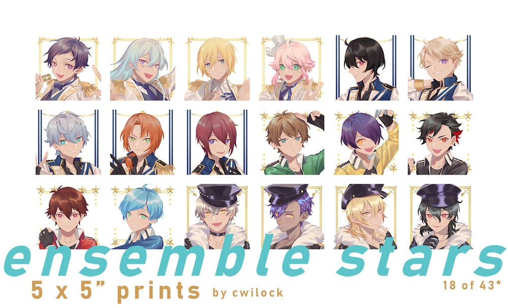 Image of Enstars Print Set
