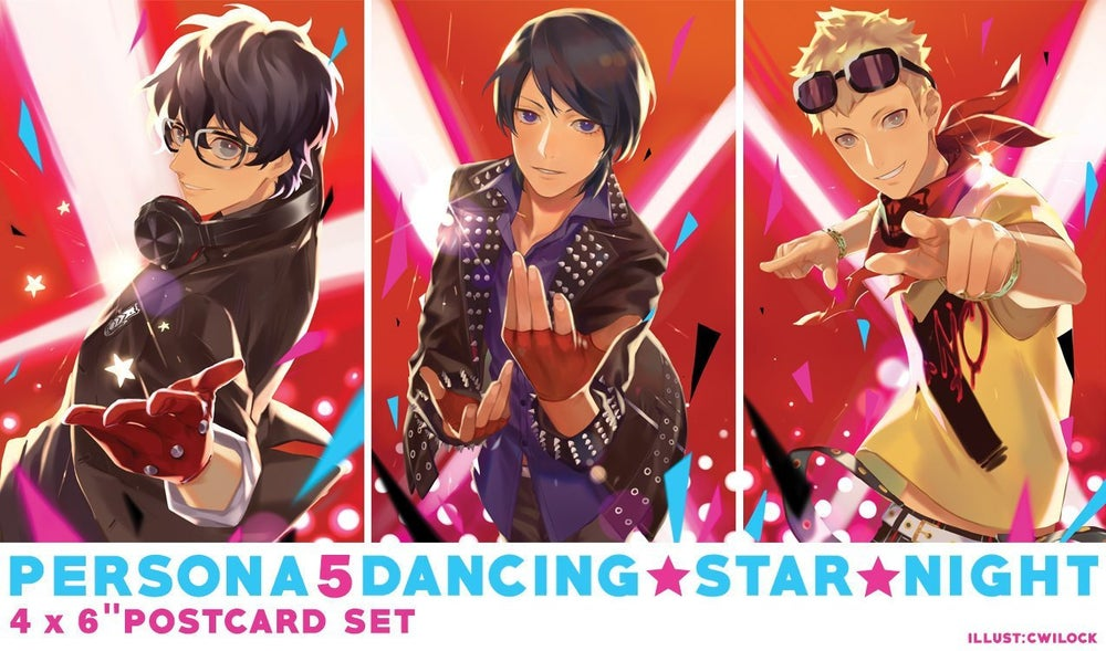 Image of Dancing All Night Print Set