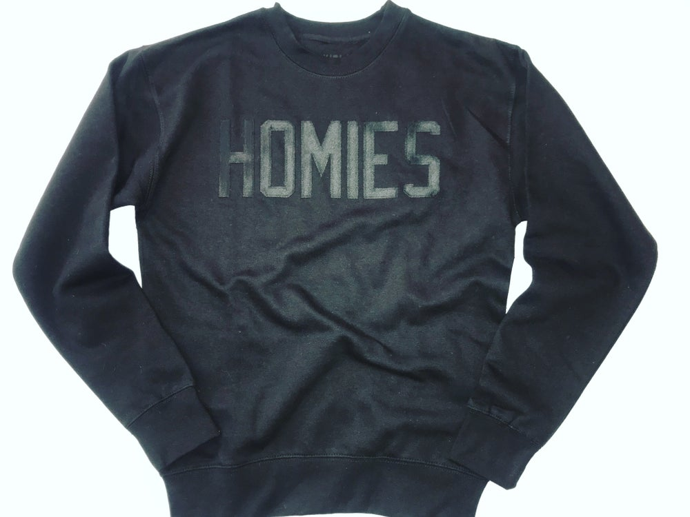 Image of HOMIES midnight crewneck