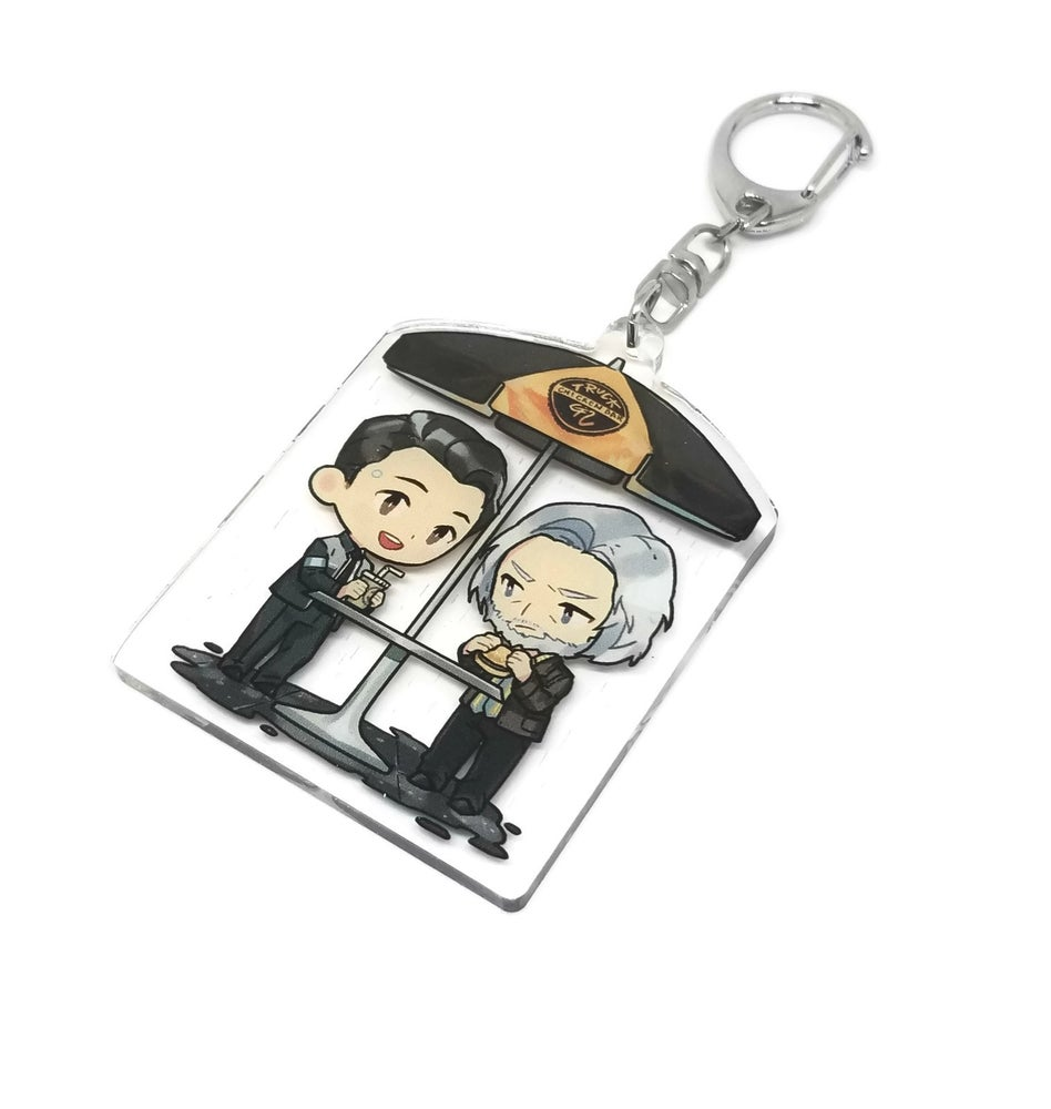 Image of Connor and Hank Acrylic charm