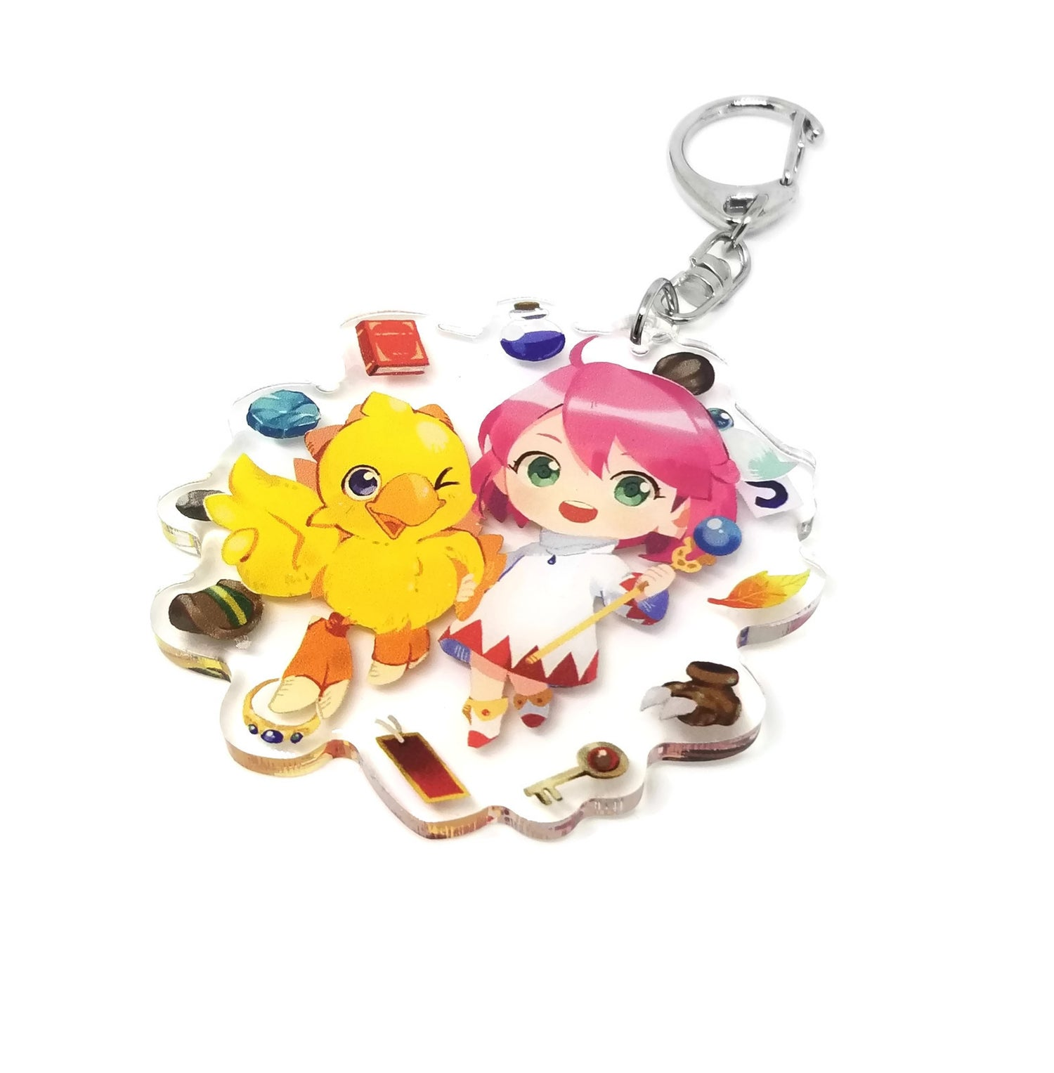 Image of Chocobo's Dungeon 2 : Acrylic charm