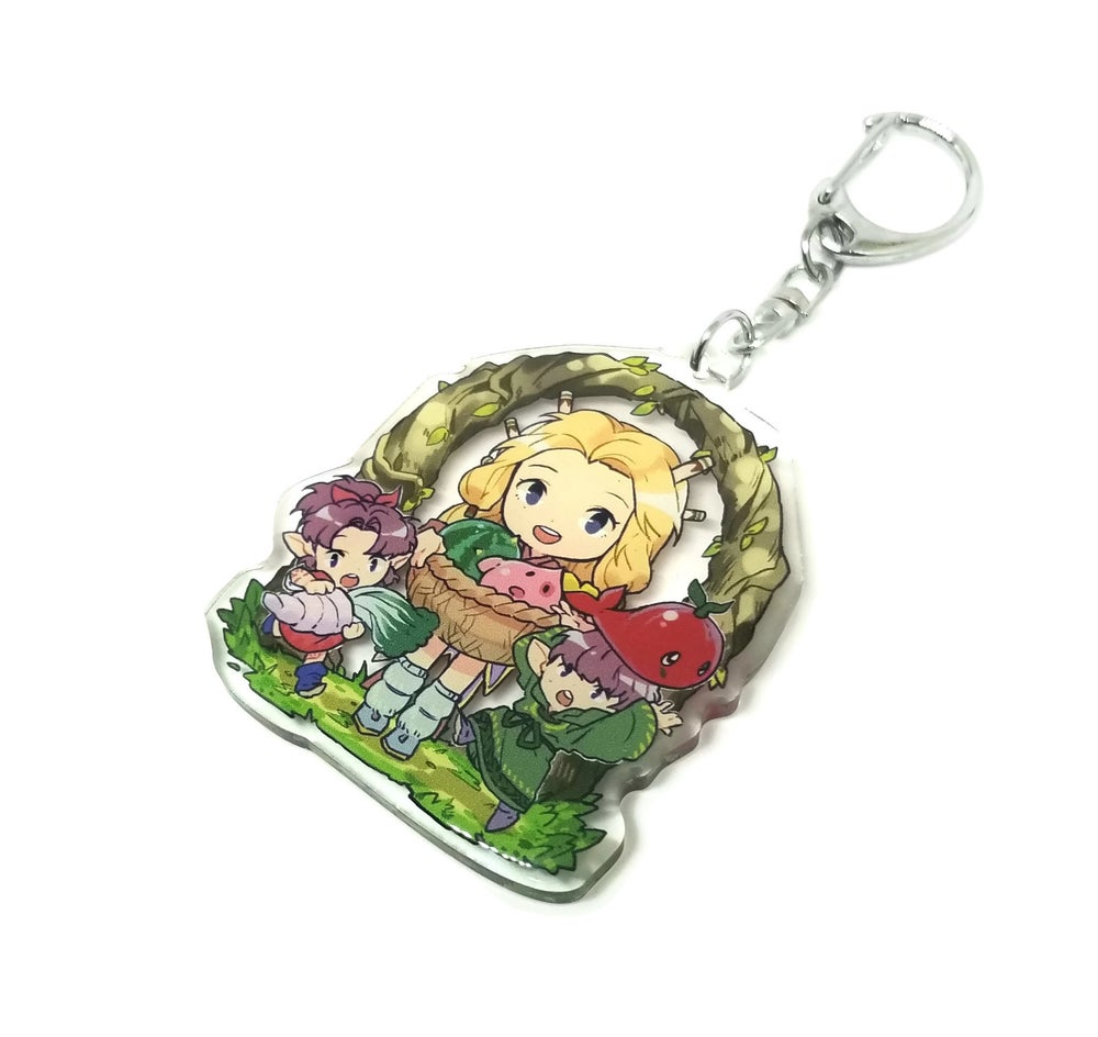 Image of Legend of Mana Acrylic charm