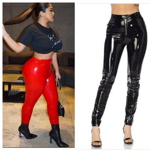 Image of Latex pants