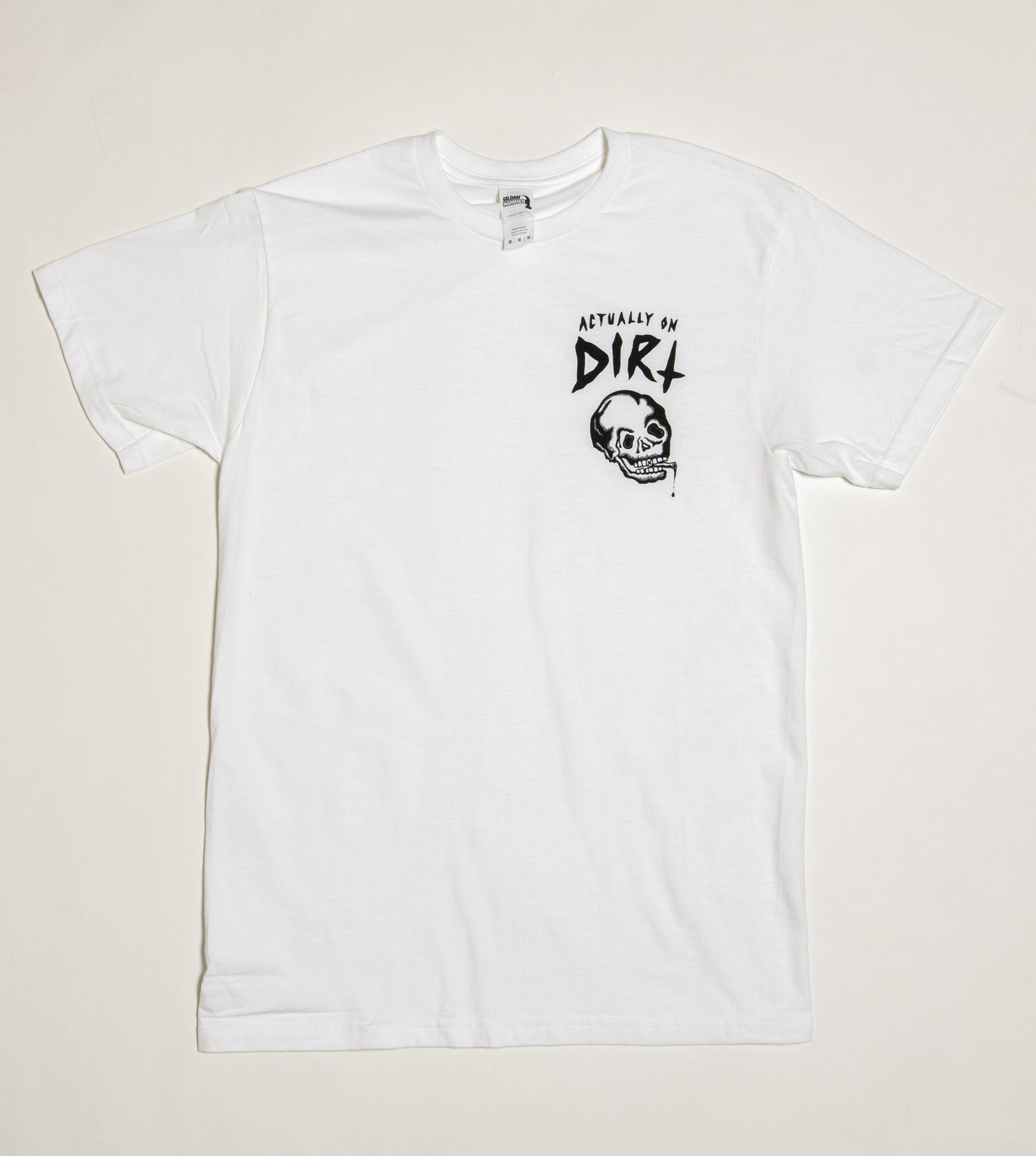 Image of White Short Sleeve Tee
